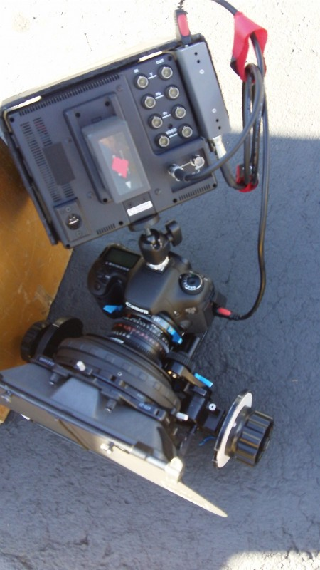 "production camera for ""Last Breath"""