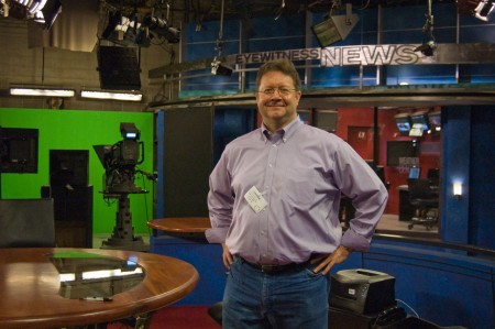 Don Peterson as Eddie, news director