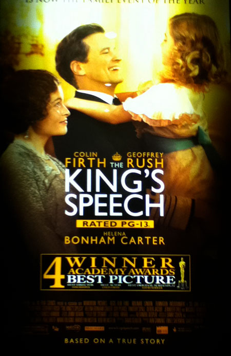 The King's Speech recut poster