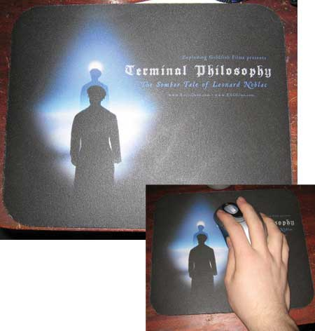 Terminal Philosophy mousepad